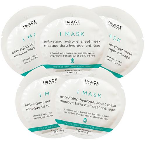 I MASK Anti-Aging Hydrogel Sheet Mask - Омолаживающая гидрогелевая маска (5 pack
