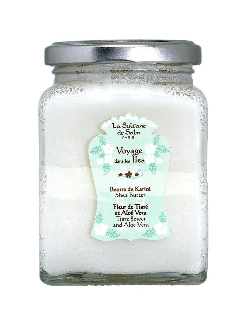 Масло карите Тиаре/Алоэ вера для лица, тела, волос