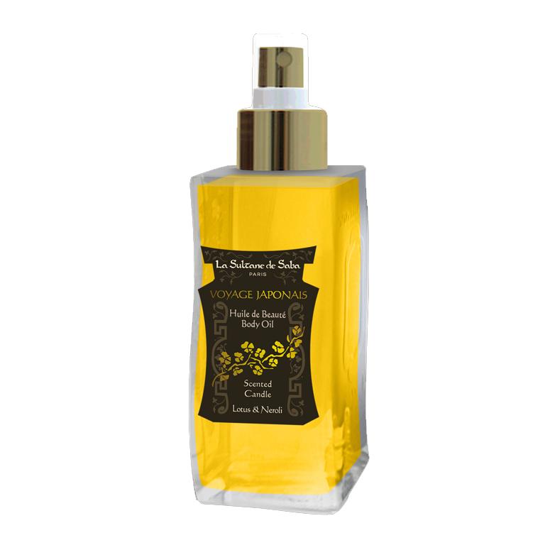 Масло Лотос/Франжипани для тела, волос, массажа и ванны